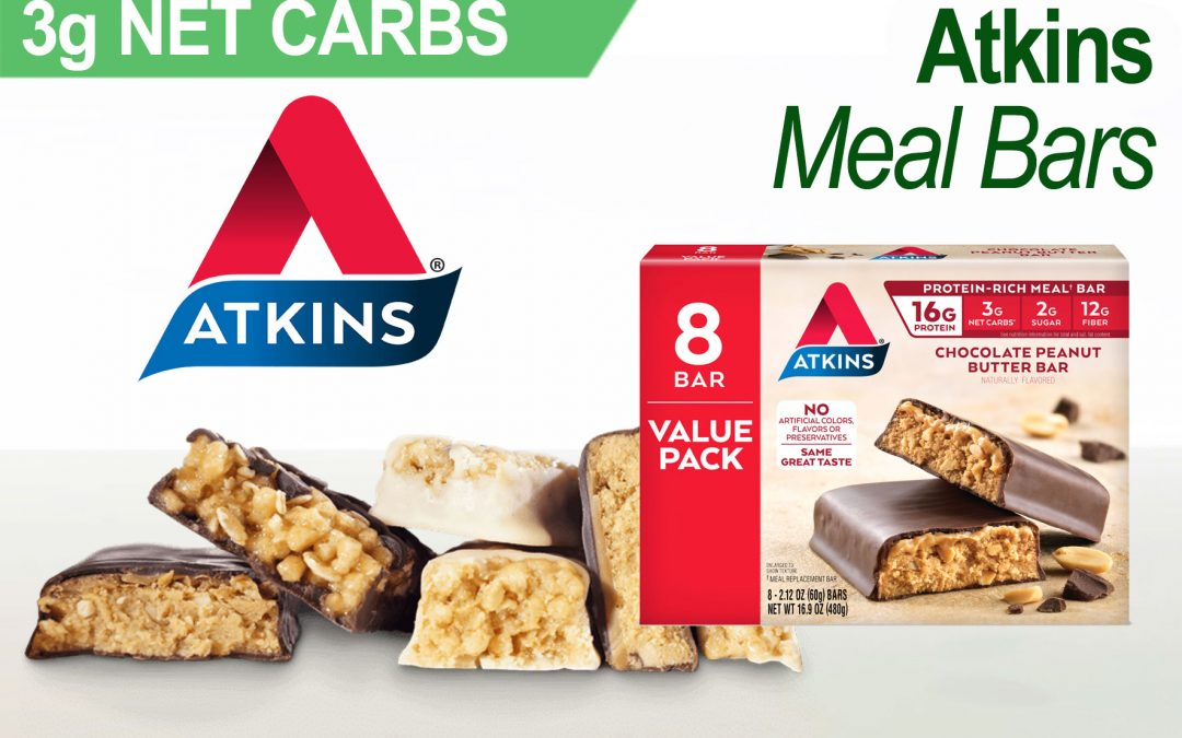 Keto Snacks: Atkins Protein Meal Bar